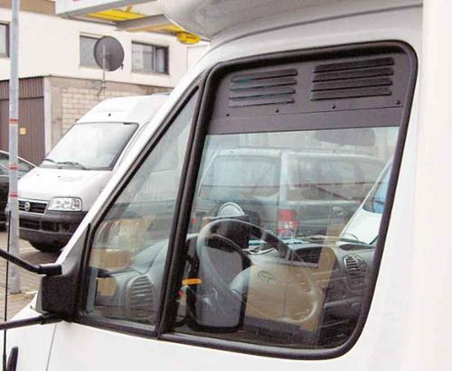 Ventilationsgitter til MB Sprinter fra juni 2018