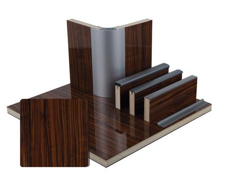 Möbelbauplatte Olive Schichtstoff, HPL