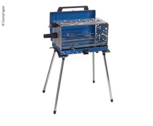 Gas grill, transportabel, 3 flammer, 50mbar