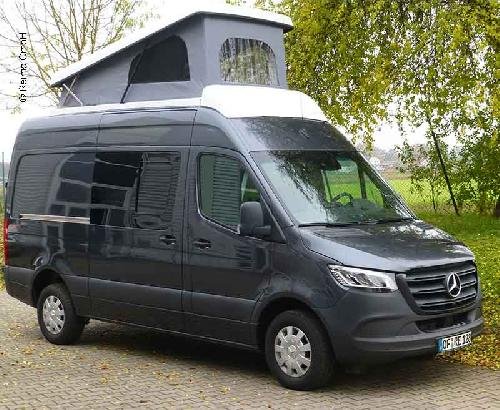Sleeping roof for Mercedes Sprinter 6 m vehicle length