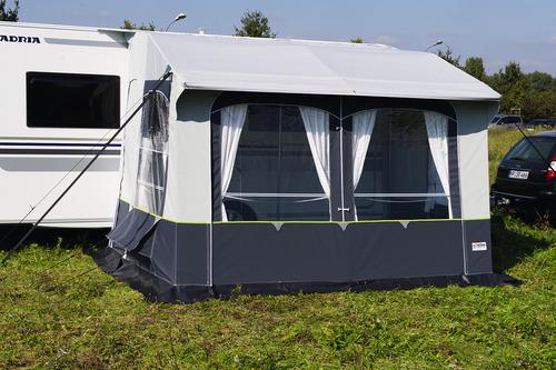 Casa Royal S 320, D230 x W320 x H235-255 cm, steel frame