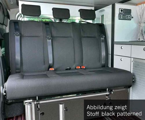 Schlafsitzbank Renault Trafic,Opel Vivaro,Fiat Talento,V3000 Gr.8.