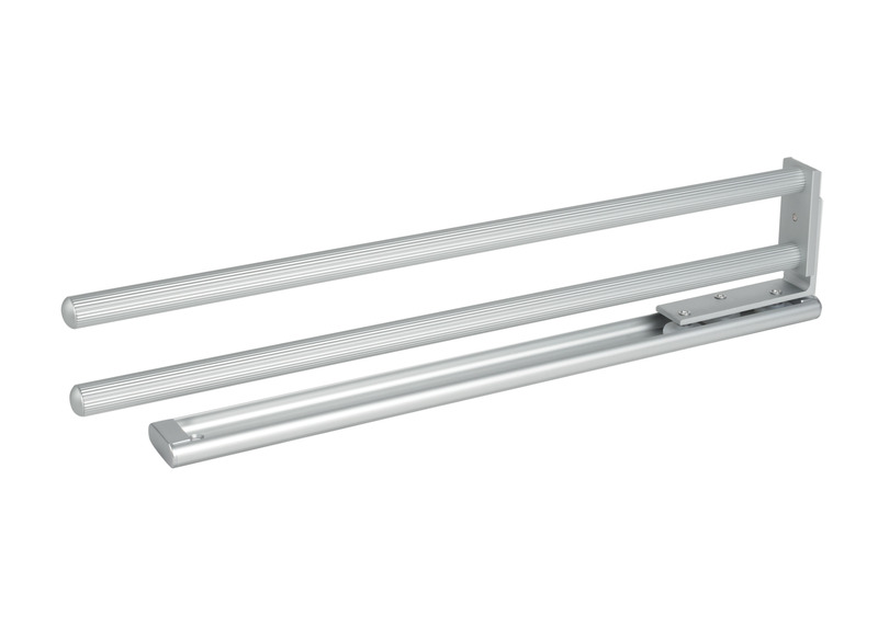Portasciugamani allungabile - 2 barre di alluminio