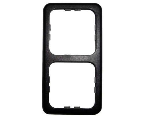 Dubbel frame smal Kleur: donkergrijs (los)