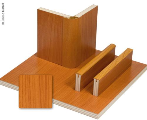 Möbelbauplatte Kirsche Schichtstoff, HPL, 1/4 Platte