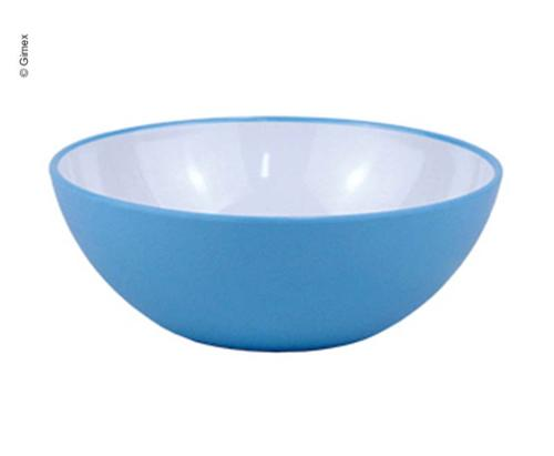 Gimex melamin kornskål Rainbow Blue