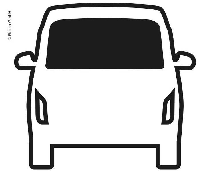 Carbest Starres Heckfenster für VW T6 ab Bj. 2016, 1544x562 mm