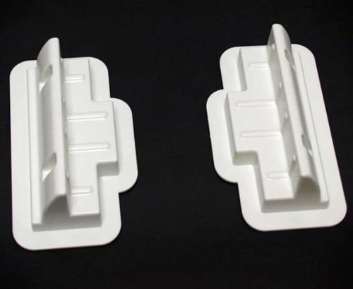 Erweiterungsset für Solarmodule, 2 Verbindungsprofile weiß