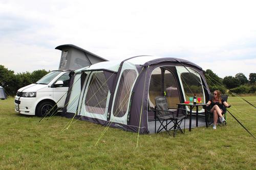 Tenda da sole per autobus Movelite Vario, altezza di montaggio 180-240cm, L310xP