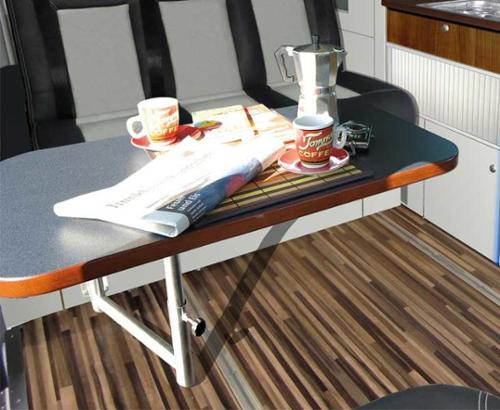 Tischanlage für Ausbau TrioStyle Ford Transit Custom KR