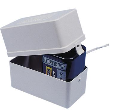 Accubak voor blokbatterij 6V
