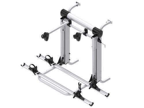 Bike rack Bike Lift Rail for 2 E-Bikes or 3 bicycles up to 60kg