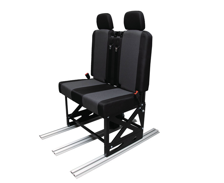 Cover for seat and backrest incl. 2 headrests