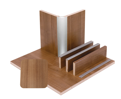 Møbler bord valnød laminat, HPL