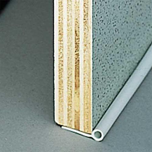 Guarnizione di tenuta profilo tondo argento Ø 5 mm, 5 m