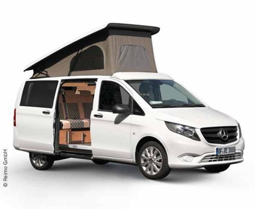 Mercedes Vito Aufstelldach Easy Fit lange Version ab 8/2014, vorne hoch