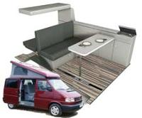 VW T4 Conversion,<br>VW T4 Camper Conversion<br>(SWB)