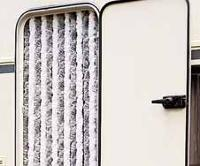 Caravan Door Curtains, Motorhome Door Curtains