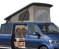 Pop Top Roof Easyfit LWB, clamp lock