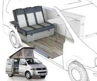 VW T5 Camper Conversion<br>VW T6 Conversion (LWB)