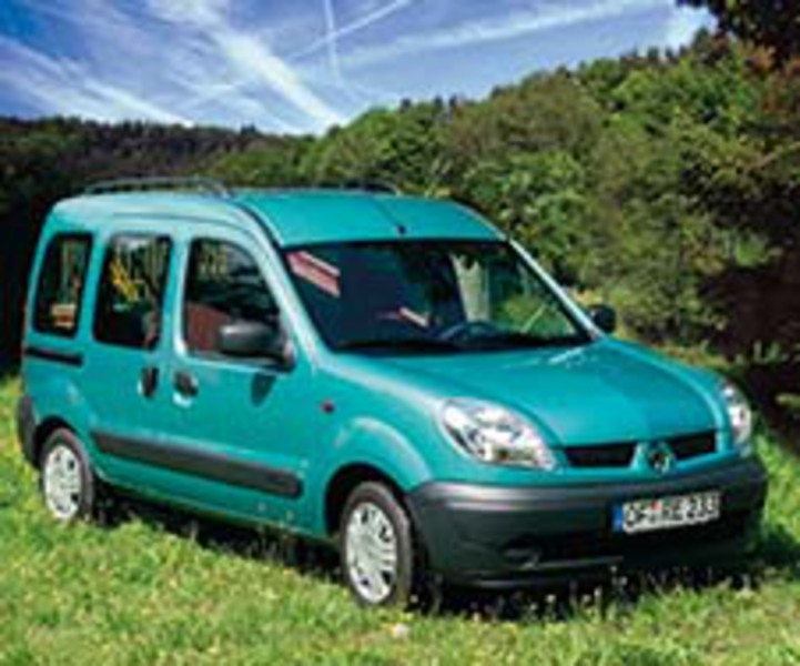 Renault Kangoo I Camper Conversion (1998-2009) Smile