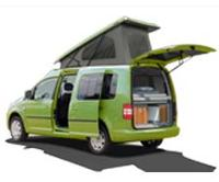 Mini Camper Van Conversion<br>Minivan Camping Conversion