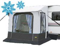 Winter Caravan Awnings