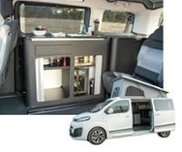 Citroen Spacetourer Conversion,<br>Citroen Spacetourer Camper Conversion