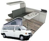 VW T4 Van Conversion<br>(LWB)