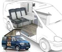 VW T5 Transporter kort version