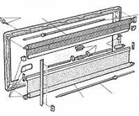 Seitz ramen S3 onderdelen, Dometic ramen onderdelen