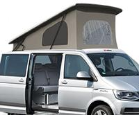 Pop Top Roof Superflat II, front elevation LWB