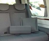 Tapezzerie per furgoni camperizzati, tessuti per auto