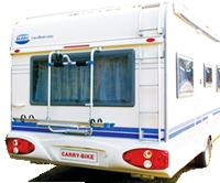 Caravan Bike Rack & Caravan Bike Carrier